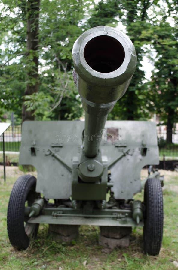 Cannone militare fotografie stock libere da diritti