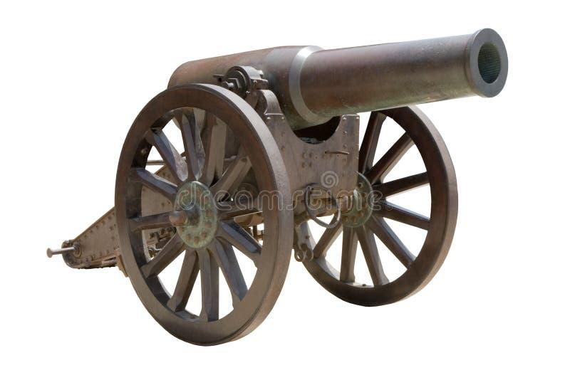 Cannone spagnolo dell'obice immagini stock