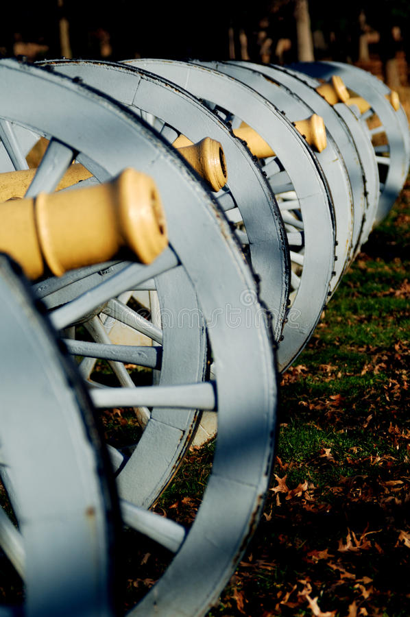 Cannoni della forgia della valle fotografia stock libera da diritti
