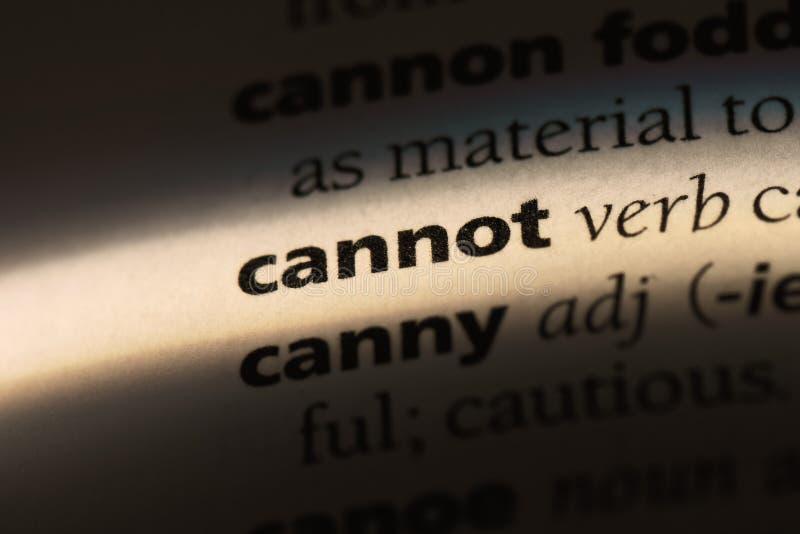 cannot photo libre de droits