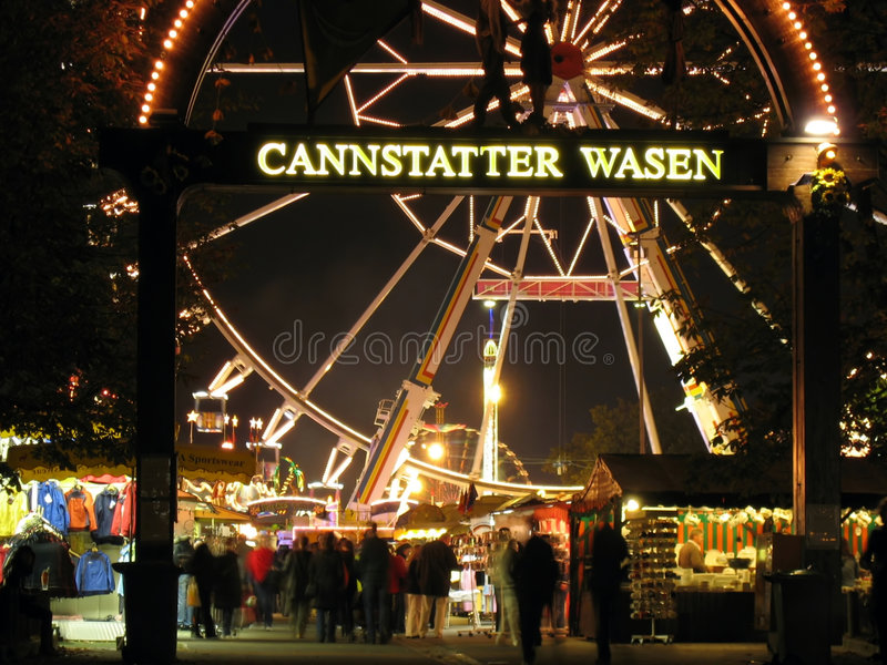Download Cannstatter Wasen Main Gate Editorial Photography - Image: 8531647