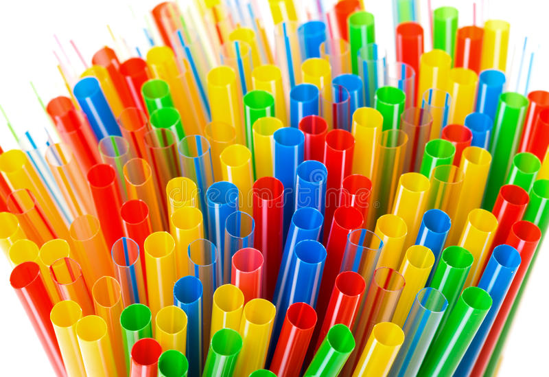 Cannucce di plastica colorate immagine stock immagine di for Immagini di pareti colorate