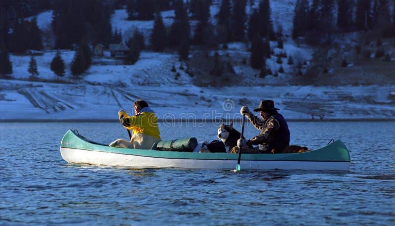Canoa fotografia de stock