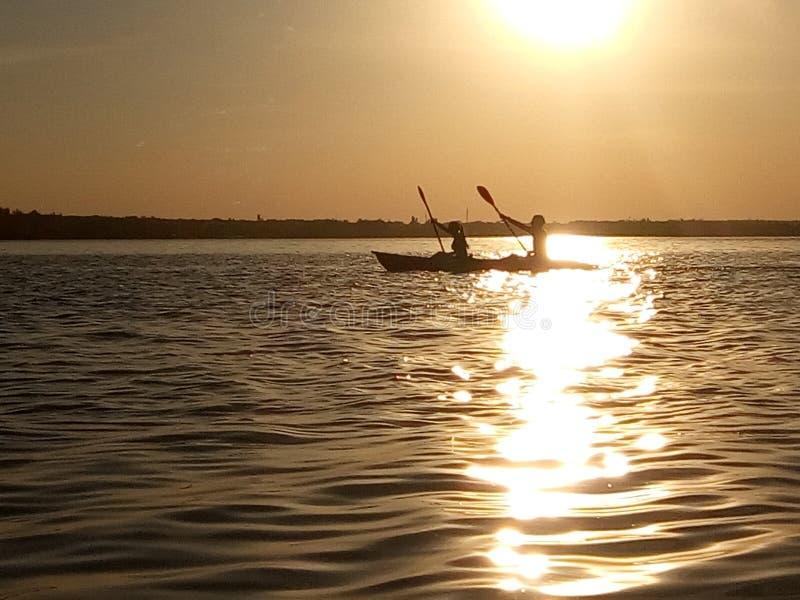 Canoa fotografie stock libere da diritti