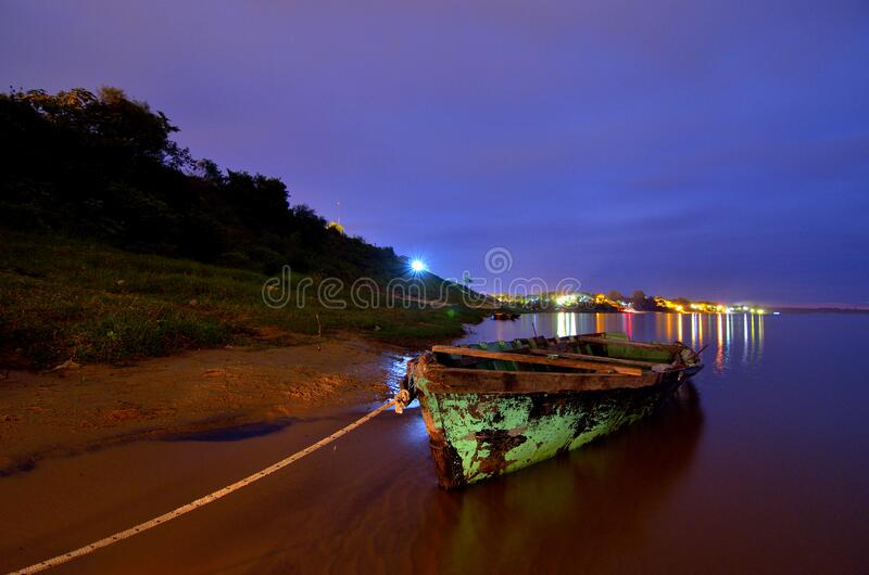 Canoa de Ituzaingo fotografia de stock royalty free