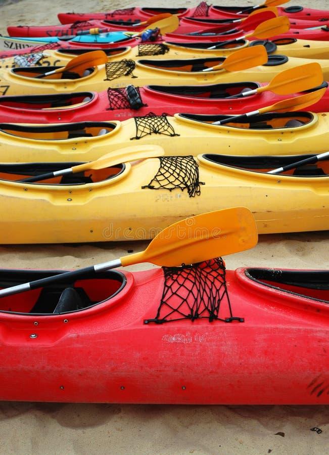 Canoas imagens de stock royalty free