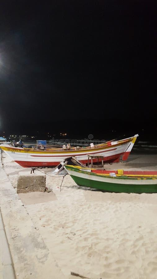 Canoas strandferie arkivfoton