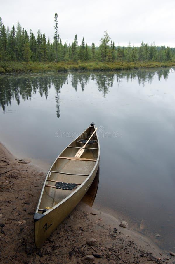 Download Canoe stock photo. Image of drop, portage, plants, alqonquin - 20332744