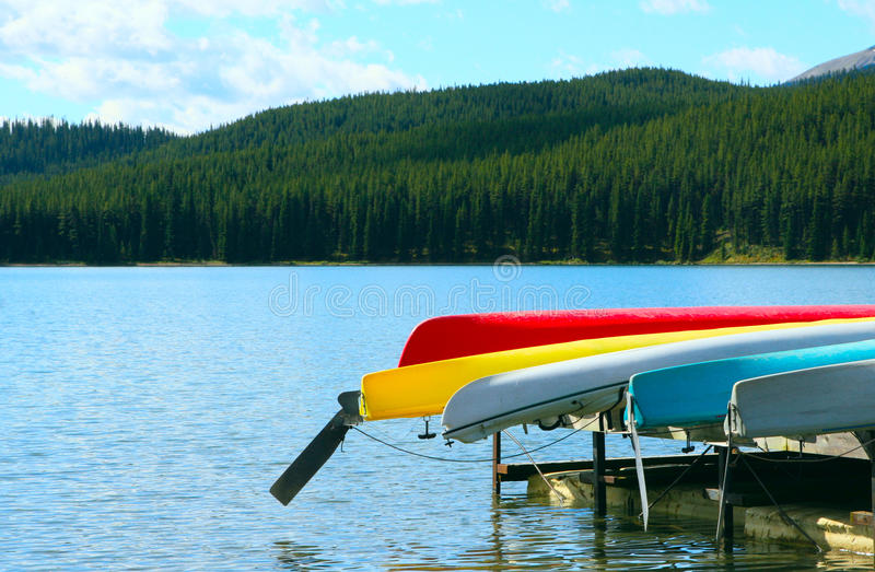 Download Canoe stock photo. Image of jasper, outside, colourful - 24162084