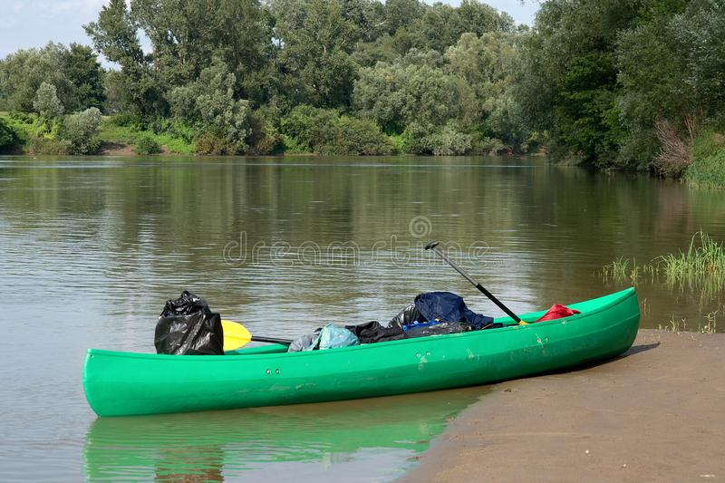 Download Canoe stock image. Image of scenery, river, journey, canoes - 24449751