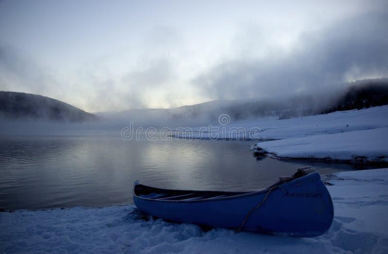 Canoe stock photography