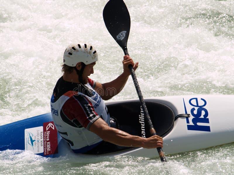 Canoe and Kayak stock photography