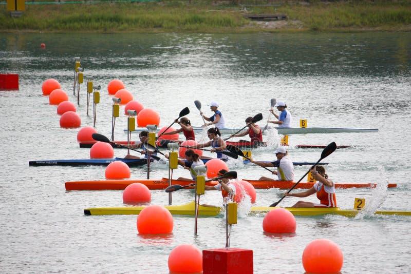 Canoe and Kayak Italian Championships royalty free stock photography