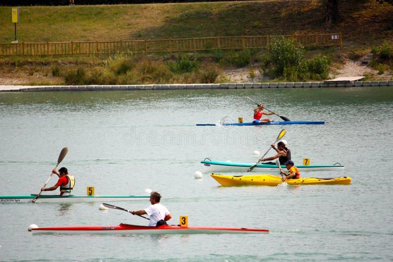 Canoe and Kayak Italian Championships royalty free stock photo