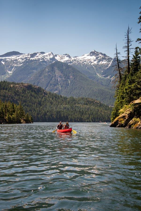 Canoe On Lake Free Public Domain Cc0 Image