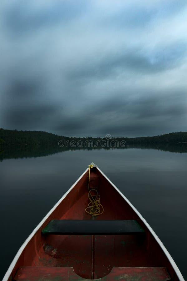 Canoe Ride royalty free stock photography