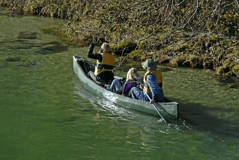 Canoe Trip Royalty Free Stock Photography