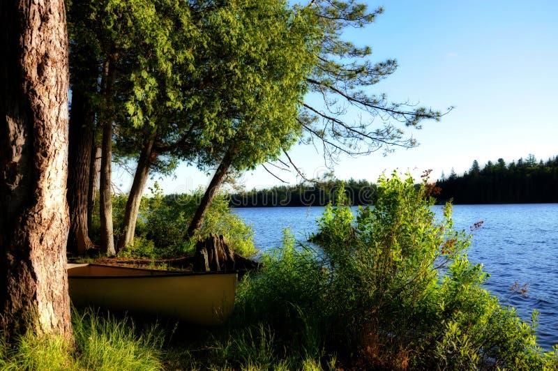 Canoeing. photos stock