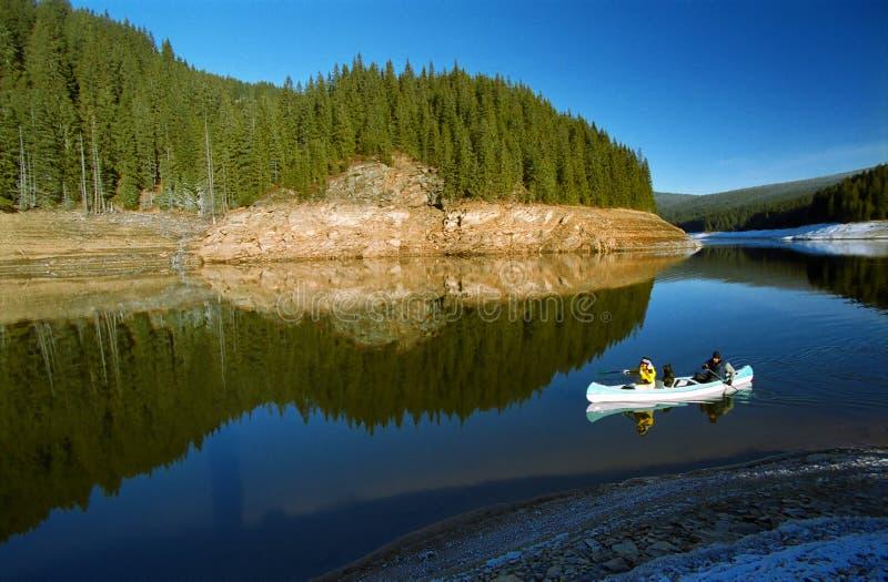 Canoeing immagini stock libere da diritti
