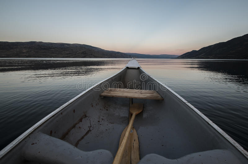 Canoeing royalty-vrije stock foto