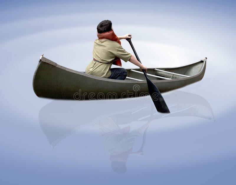 Download Canoeing image stock. Image du bateau, fleuve, matériel - 744993