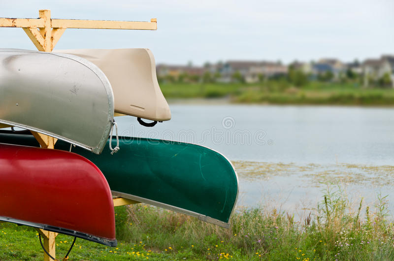 Download Canoes stock photo. Image of canoeing, summer, peace - 26798570
