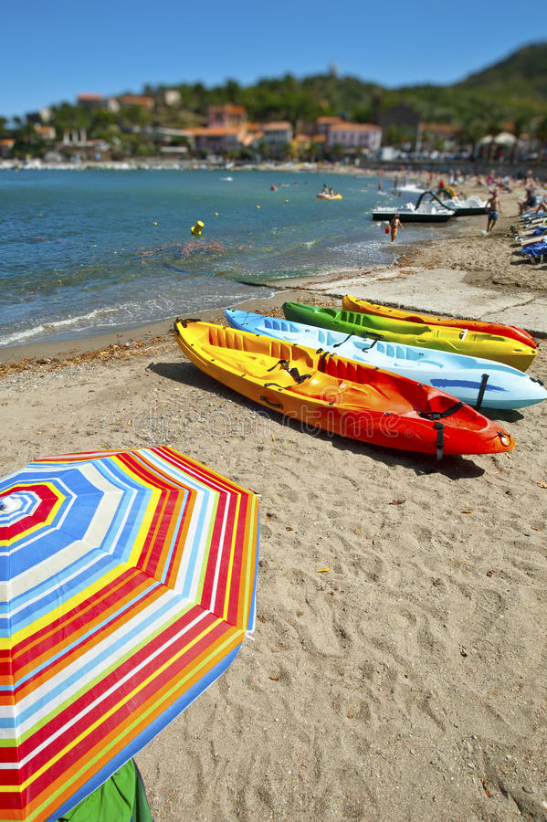 Collioure Southern France royalty free stock images