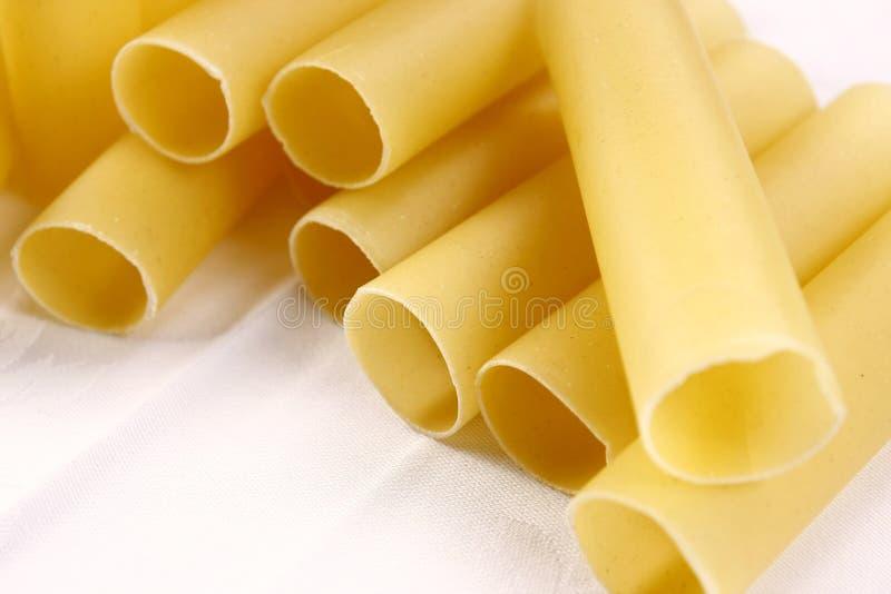 Canoli pasta royaltyfri bild