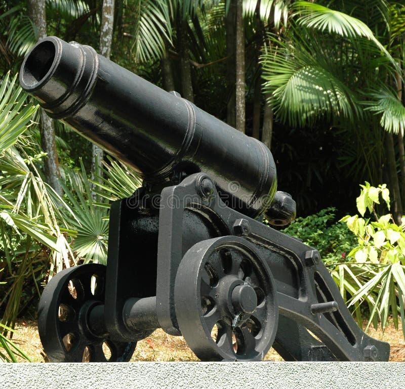 Download Canon imagem de stock. Imagem de firearm, guerra, roda - 104109
