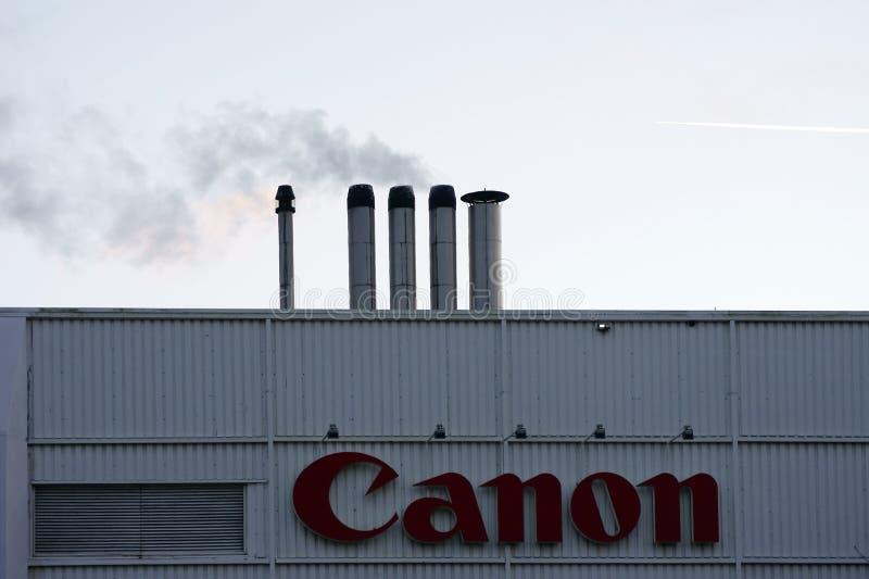 Canon Amsterdam stock photography