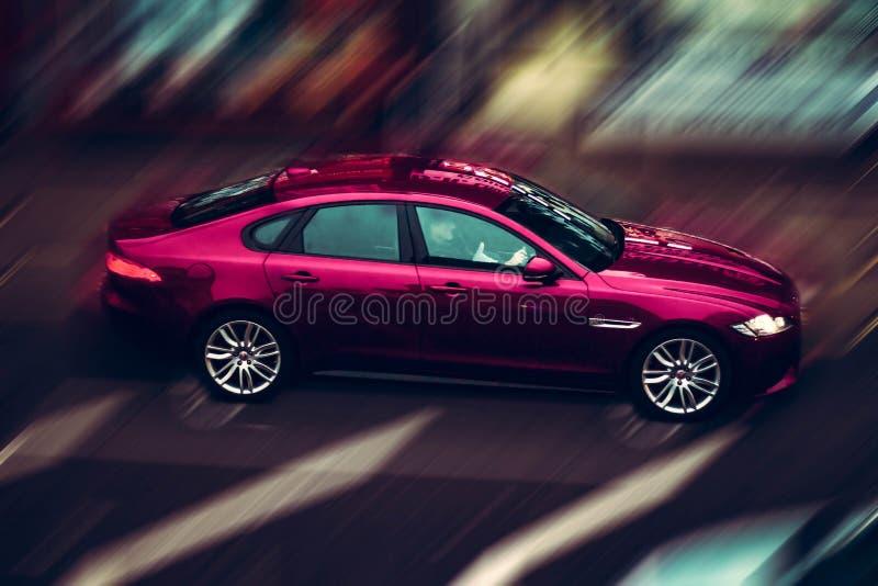 Canon BMW Londres de la foto del coche de la fotografía fotografía de archivo libre de regalías