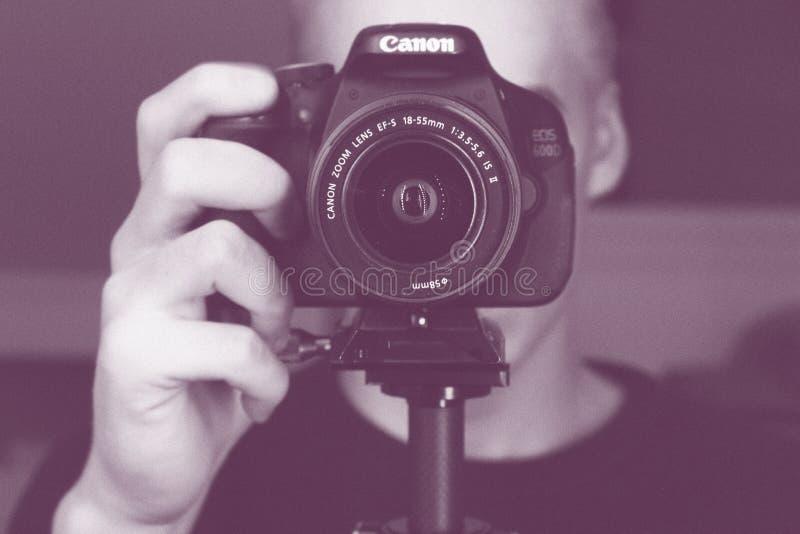 Canon Camera And Photographer Free Public Domain Cc0 Image