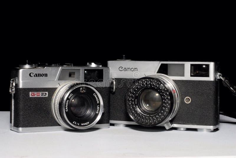 Canon Canonet fotografia de stock royalty free