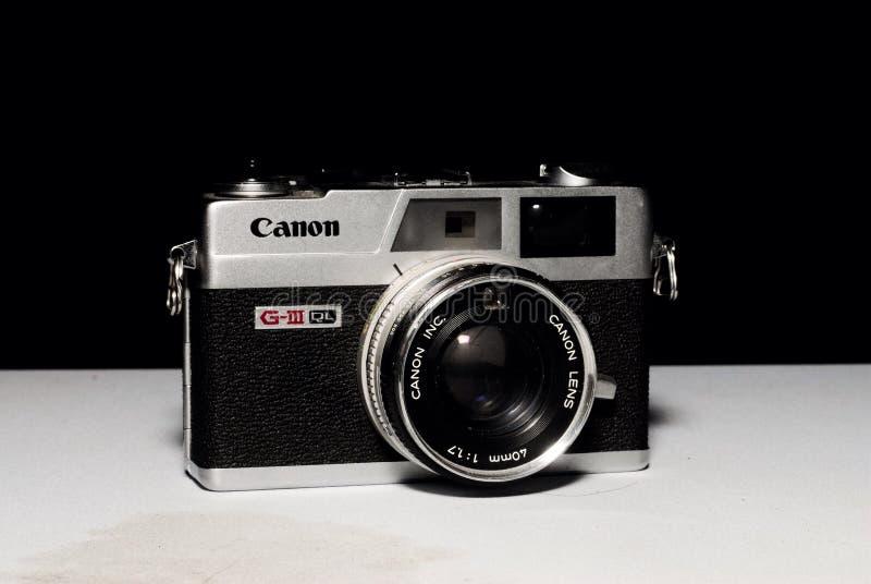 Canon Canonet QL17 fotografia de stock