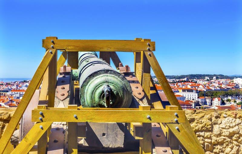 Fort Orange Cannon And Defense Walls Brazil Stock Photo