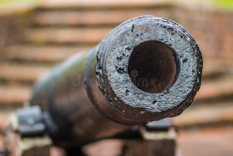 Canon colonial anglais images libres de droits