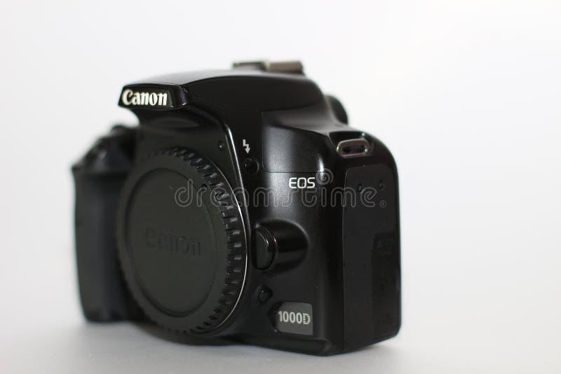 Canon 1000d lizenzfreies stockbild
