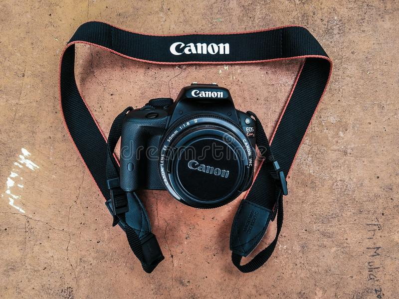 Canon 650D royalty free stock photography