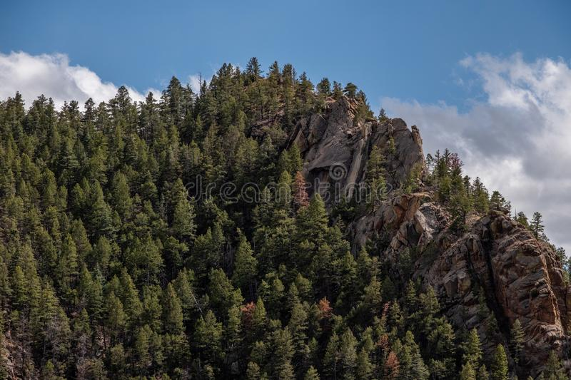 Canon du nord Colorado Springs de canyon de Cheyenne images stock