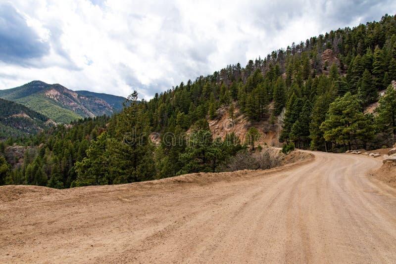 Canon du nord Colorado Springs de canyon de Cheyenne image libre de droits