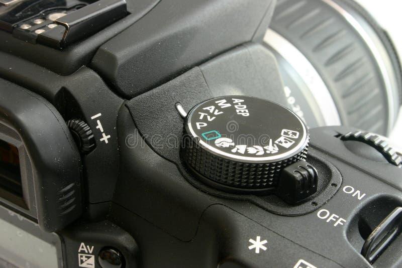 Canon EOS 350 back royalty free stock photos