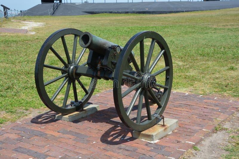 Canon fort Sumter zdjęcia royalty free
