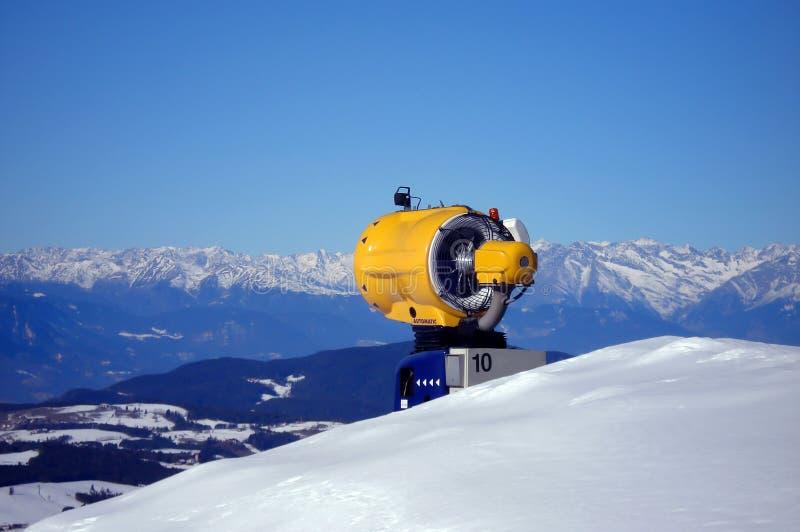 Canon/générateur de neige photographie stock