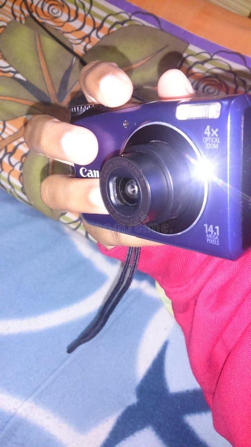 Canon & x28; klickat av me& x29; royaltyfri foto