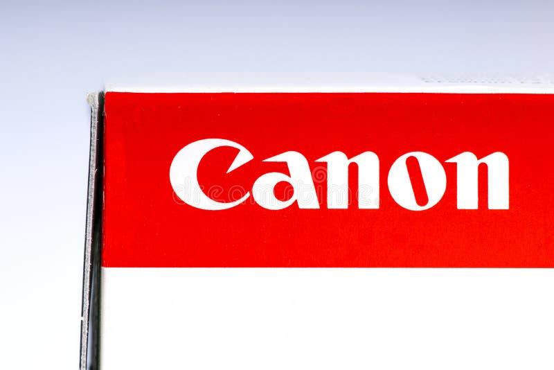 Canon Logo royalty free stock photography