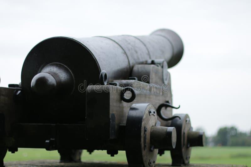 Canon at Sloten stock photos