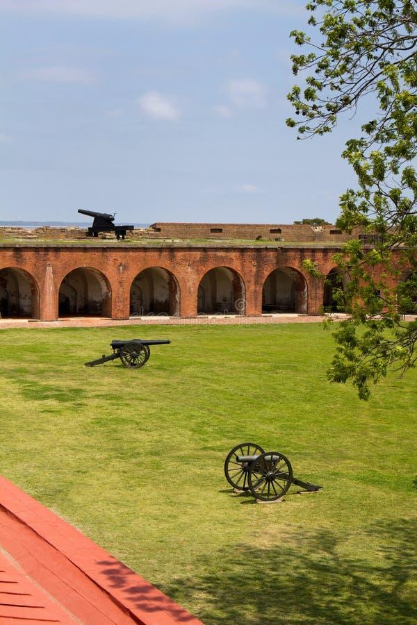 Canones de Pulaski de la fortaleza imagenes de archivo