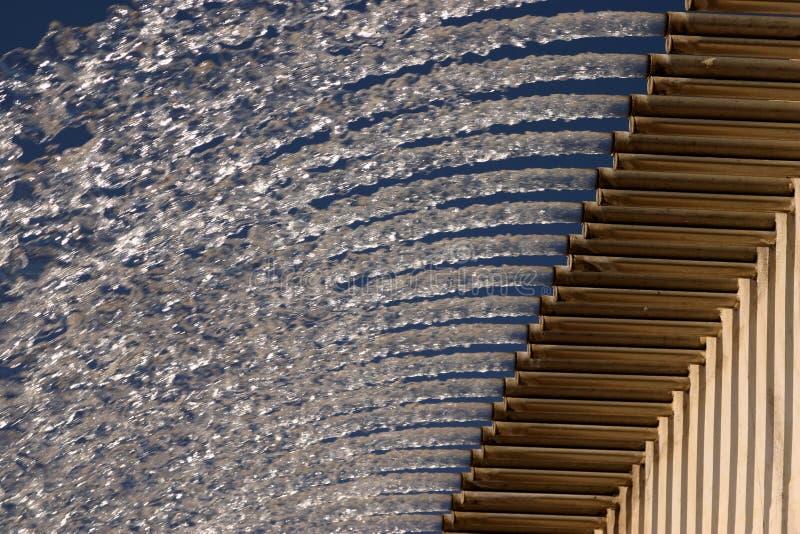 Canoni dell'acqua immagini stock