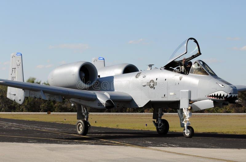 Canonnière de l'Armée de l'Air d'USA image stock