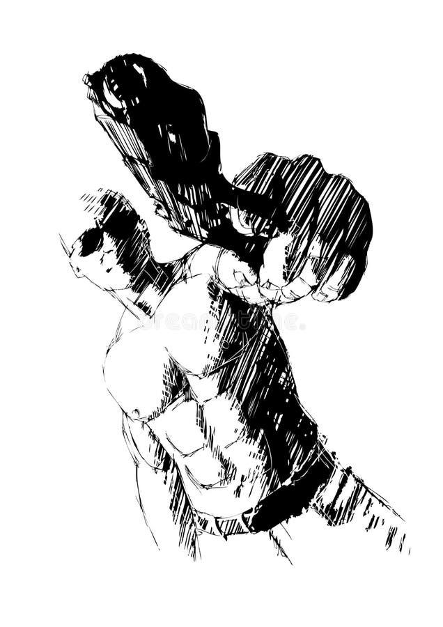 Canonnier illustration stock